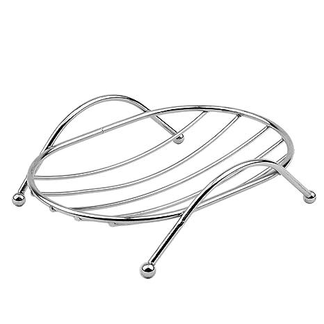 Amazon.com: ofxdd alambre jabonera Holder Jabón de acero ...