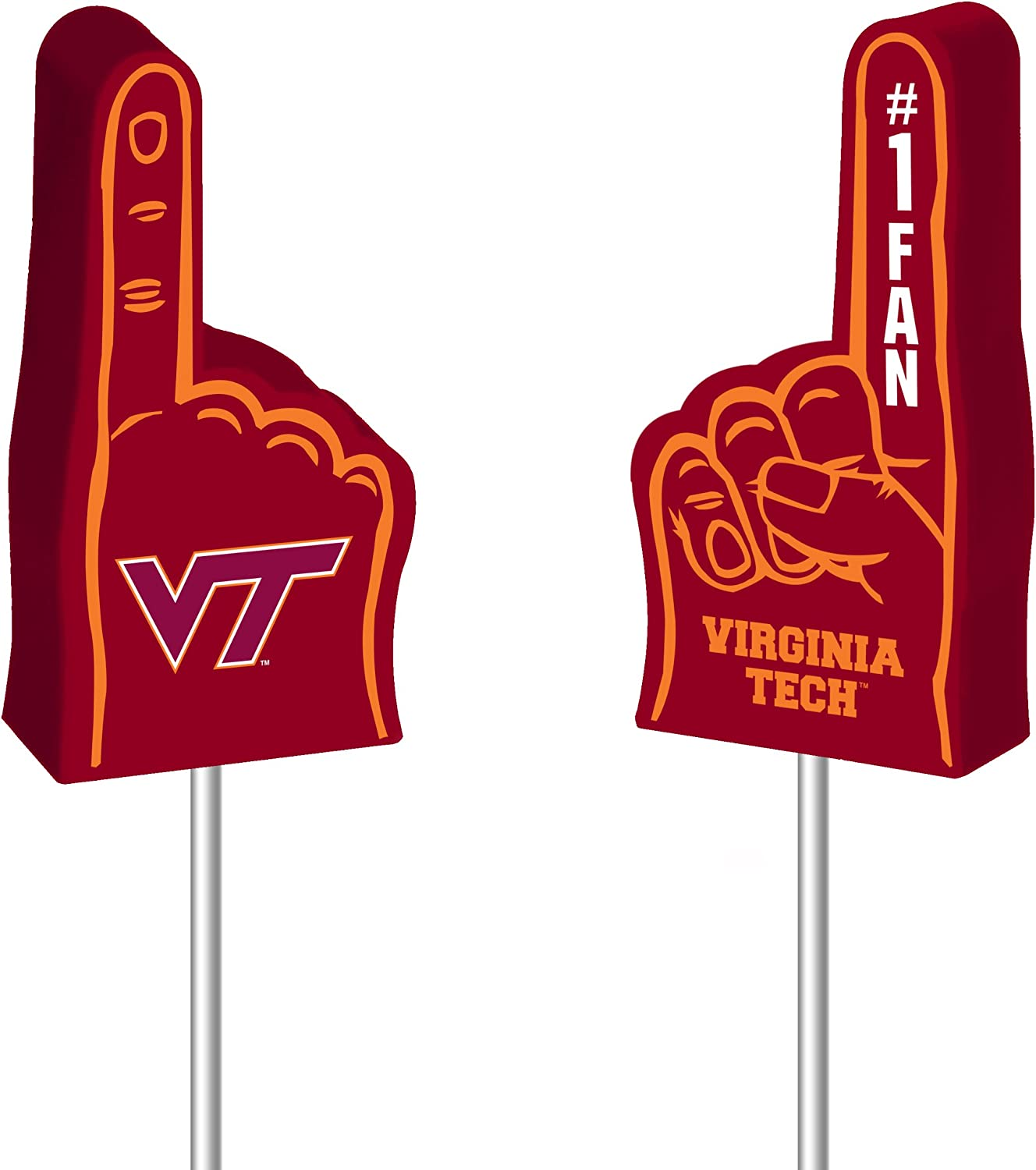Rico NCAA Foam Finger Antenna Topper