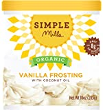 Simple Mills Organic Frosting, Vanilla, 10 oz - PACKAGING MAY VARY