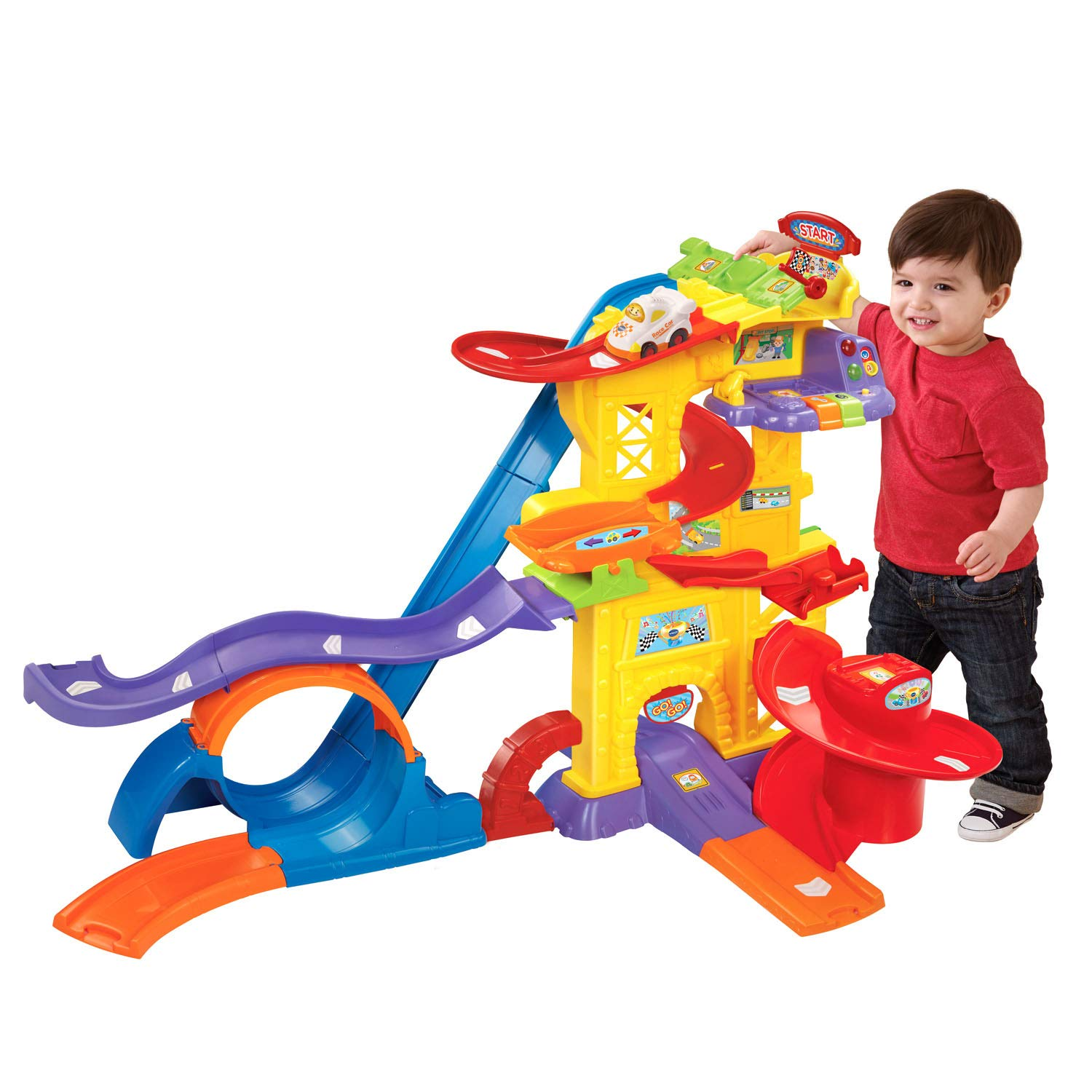 VTech Go! Go! Smart Wheels Ultimate Amazement Park Playset (Frustration Free Packaging) by VTech (Image #1)