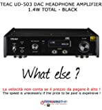TEAC UD-503 DAC Headphone Amplifier 1.4 W Total – Black