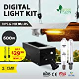 600w Grow Lights-Greenfingers LED Plant Grow Lights with Cool Tube Reflector Magnetic Ballast Rope Ratchet Lights for Indoor Plants Hydroponics Greenhouse Seedling Veg and Flower