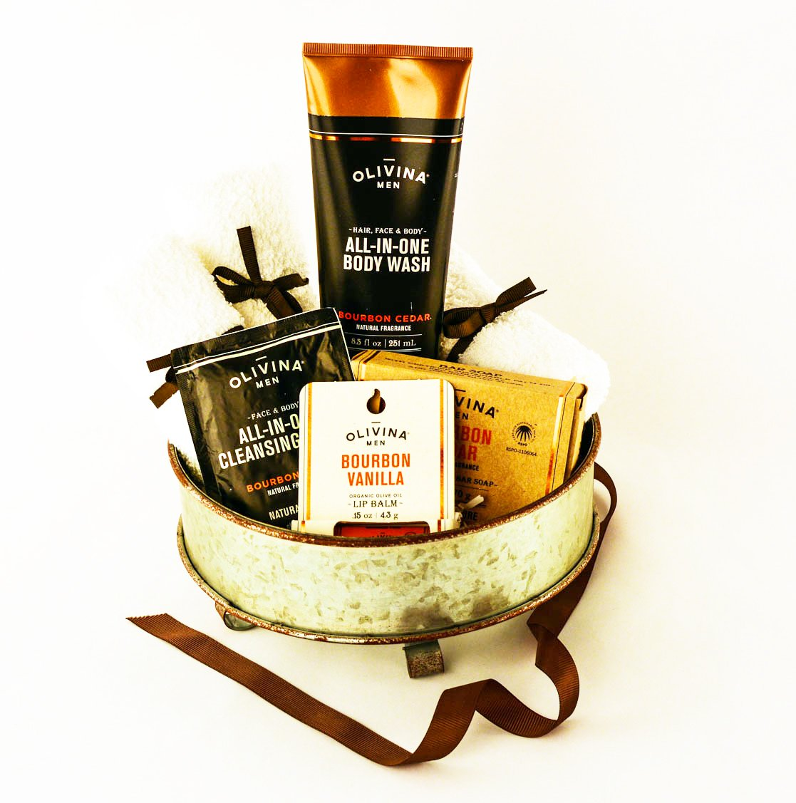 Bourbon Spa Gift Basket