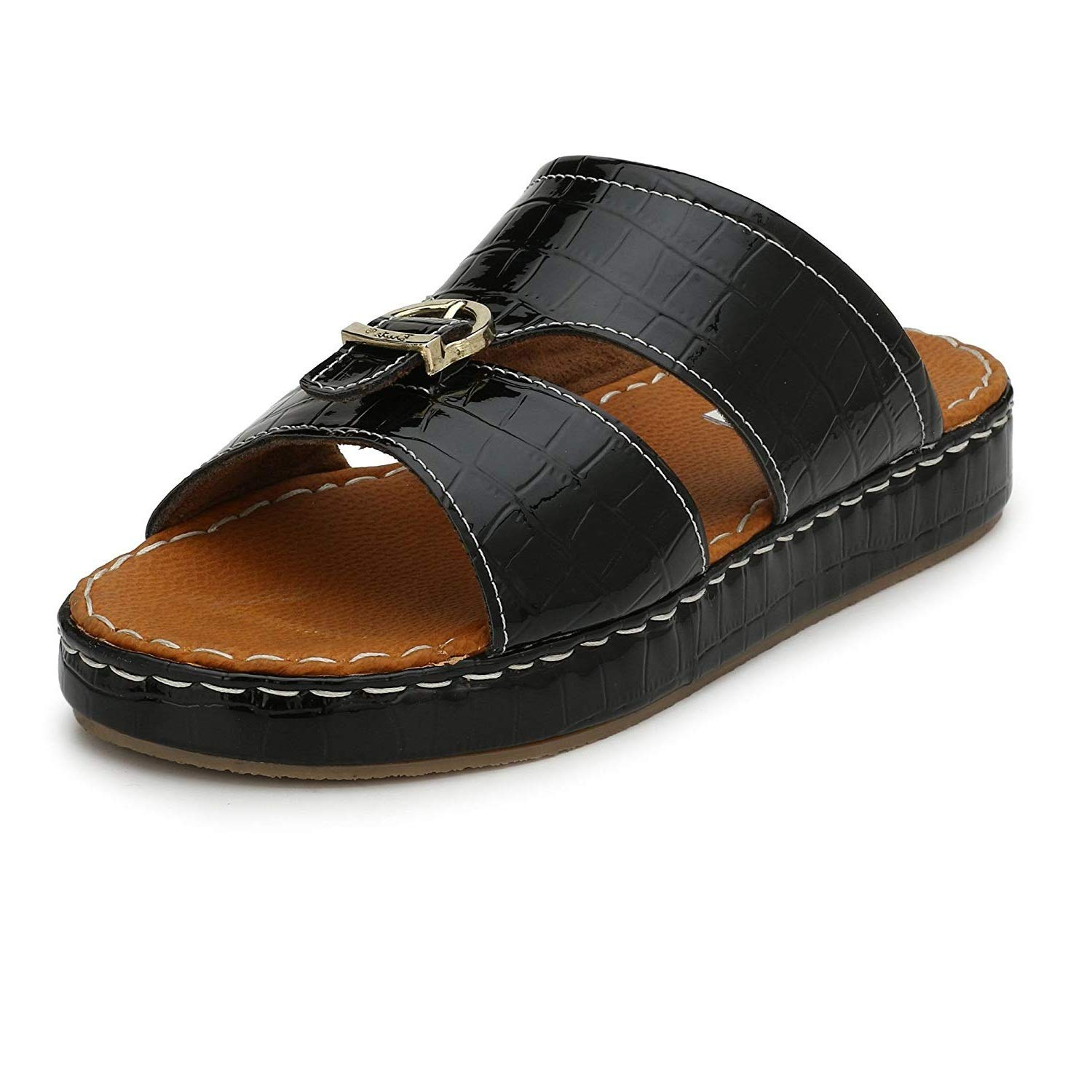 ad3e07f3d3be Asken Atelier Arabic Sandal for Men  Buy Online at Low Prices in India -  Amazon.in