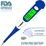 Best FDA Digital Medical Thermometer,Easy Accurate and Fast 10 Second Read Fever Body Temperature