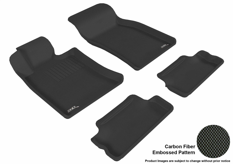 3D MAXpider Second Row Custom Fit All-Weather Floor Mat for Select Mini Cooper//Cooper-S Models Tan Kagu Rubber