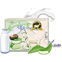 Memoir All Natural Baby Soap - New Zealand Goat Milk, Lavender Essential Oil, Probiotic, Great for Atopic Dermatitis…