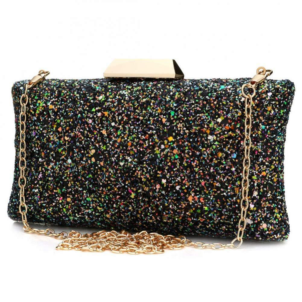HKDUC Pailletten Schulter Kunststoff Handtasche Mode Handtasche Schöne   Abendtasche Für Frauen B07PGSLQ6D Damenhandtaschen Moderner Modus