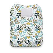 Thirsties Natural One Size All In One Cloth Diaper, Hook & Loop Closure, Happy Camper
