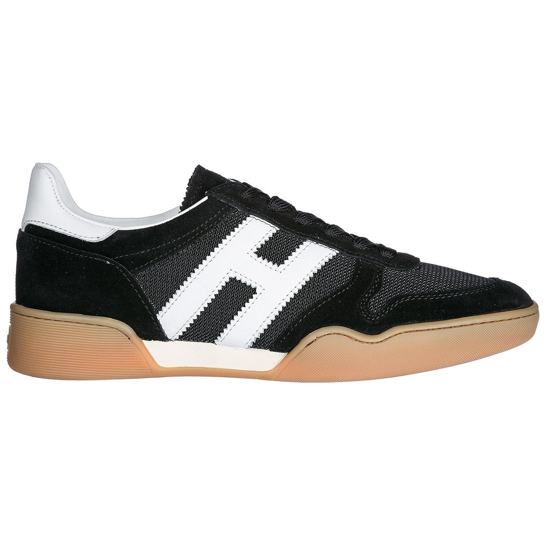 Hogan Zapatos Zapatillas de Deporte Hombres h357 Negro 41.5 EU