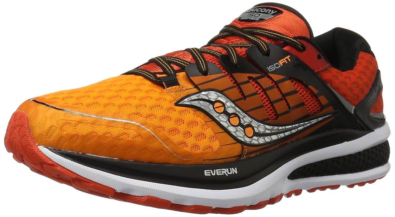 Saucony Triumph ISO 2, Zapatillas de Running para Hombre 45 EU True Red Deep Orange