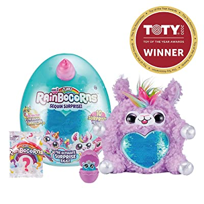 Rainbocorns Series 2 Ultimate Surprise Egg by ZURU - Purple Llamacorn: Toys & Games