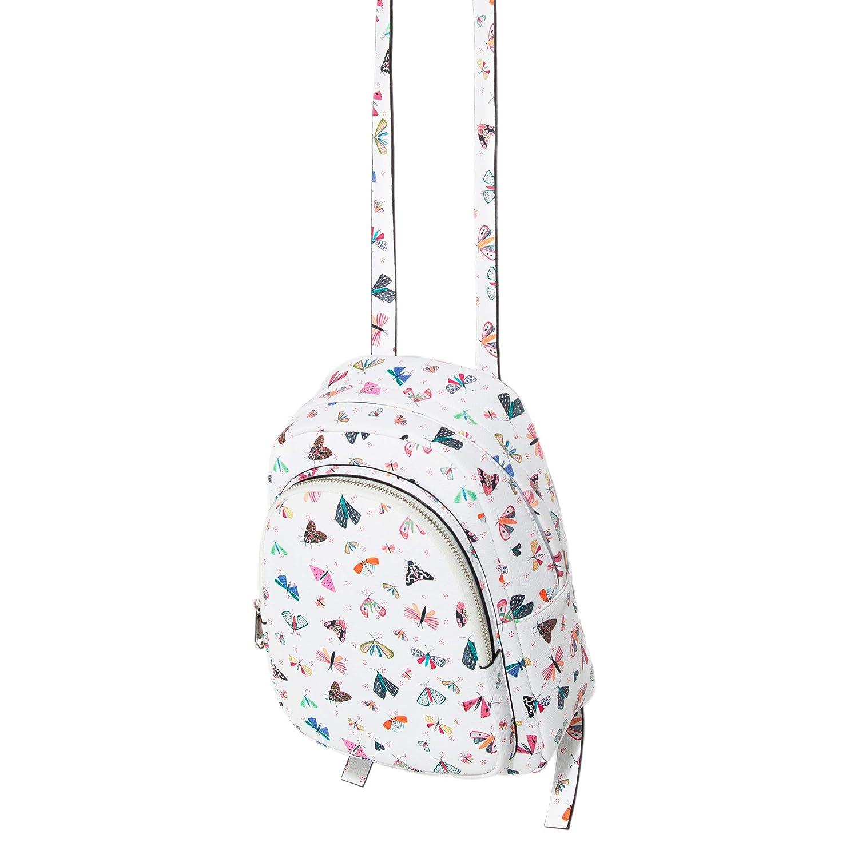 Parfois - Mochila Claire - Mujeres - Tallas M - Blanco: Amazon.es: Zapatos y complementos