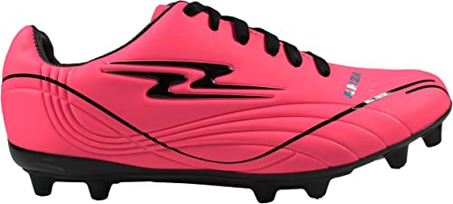 New Mens Arza Soccer Cleats Firm Ground Color Fiusha-Black