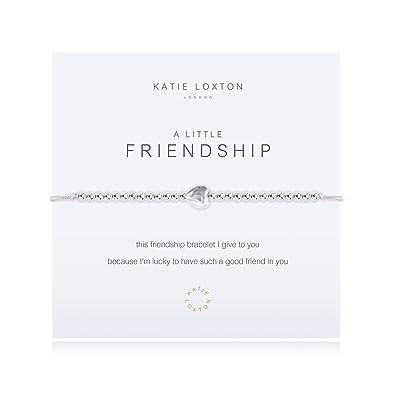 45ea7024936d3 Katie Loxton - A Little Friendship - Bracelet - Grey: Amazon.co.uk ...