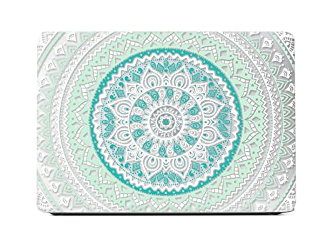 new product 40e89 5542f Amazon.com: MacBook Air 13 inch Case, Mandala Design Rubber Coated ...