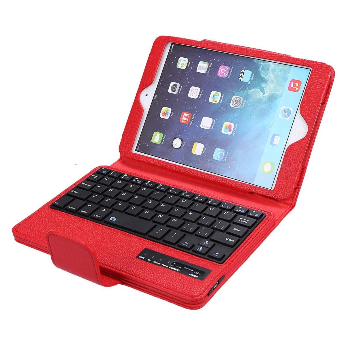 最安値挑戦! iPad Mini 1 2 3 4 1 キーボード 4 ケース B07KXVM7KY レッド LifeePro レッド B07KXVM7KY, イワタグン:a8b6681c --- a0267596.xsph.ru