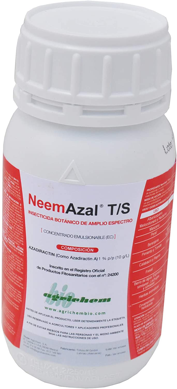 CULTIVERS Aceite de Neem de 250 ml para Plantas súper Concentrado (Azadiractina al 1%) Insecticida Ecológico para Todo Tipo de Plagas. Proceso de Extracción Patentado Máxima Eficacia