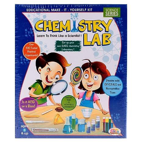 667e05dc21 Buy Ekta Chemistry Lab Educational Kit Online at Low Prices in India -  Amazon.in