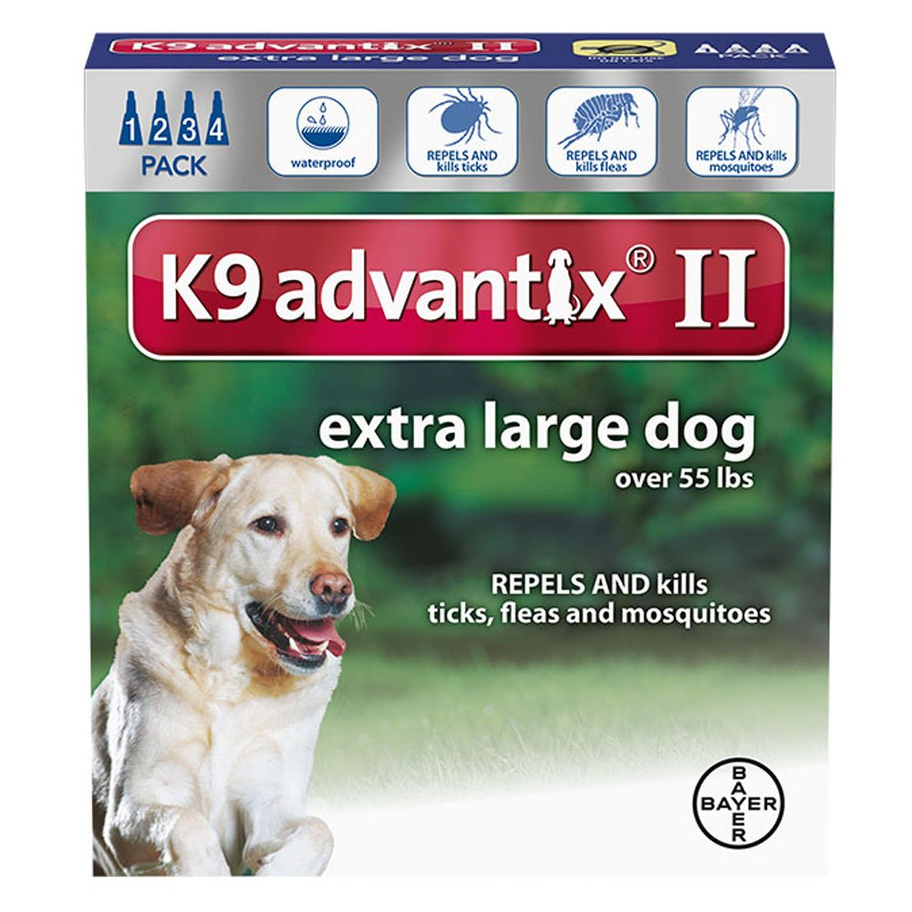 Amazon K9 Advantix II For Dogs 55 Pounds And Over