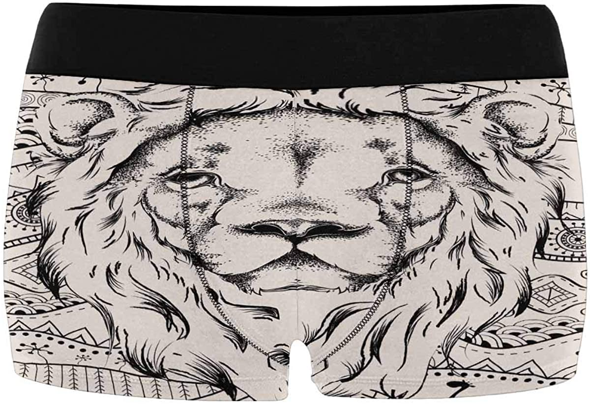 INTERESTPRINT Mens Boxer Briefs Soft Underwear