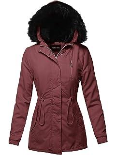 Amazon.com: Women Winter Coat,Vanvler Ladies Warm Jacket ...