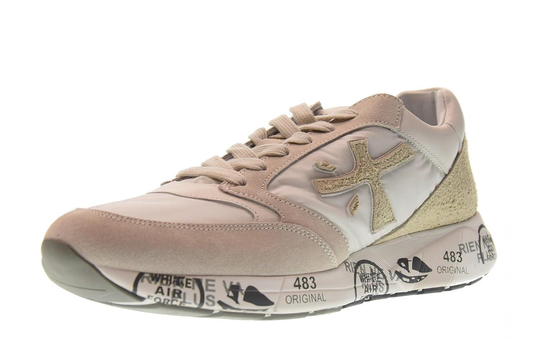 PREMIATA Zapatos Hombres Zapatillas Bajas Zac-Zac 3128 40 EU|Blanco Perla