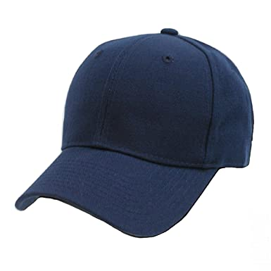 Image result for plain navy blue hat