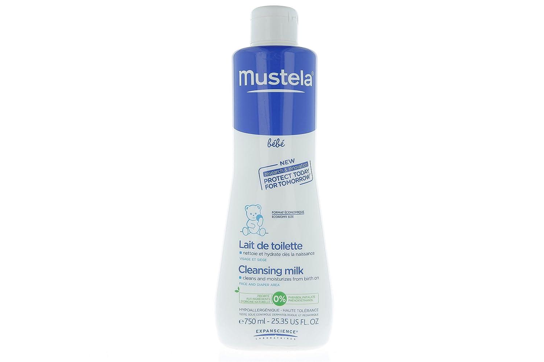 Mustela Bébé Lait de Toilette Flacon de 750 ml Laboratoire Expanscience 22500