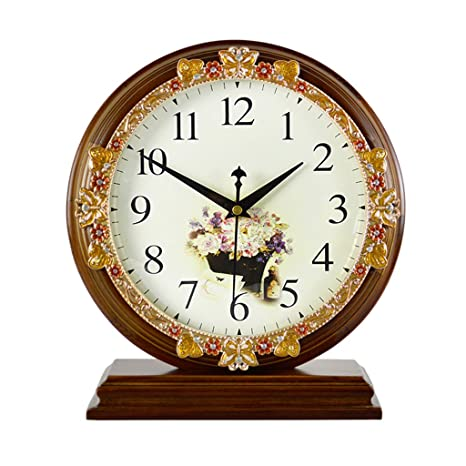 Reloj de mesa retro y reloj de mesa Reloj de mesa, sin tic ...