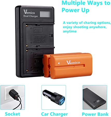 Vemico SON.NP-F550 Battery product image 10