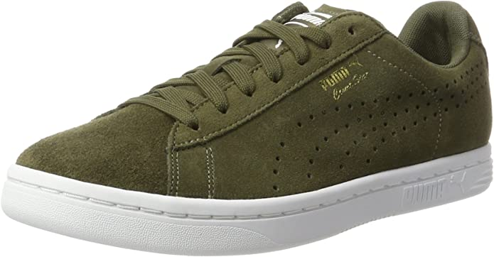 Puma Court Star Sneaker Damen Herren Unisex Grün (Olive Night)