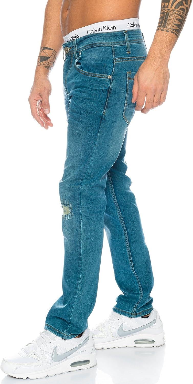 Rock Creek Jeans Designer Uomo Jeans Stretch Jeans Basic Slim Fit W29-W40 M21