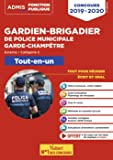 Concours Gardien-brigadier de police municipale et Garde-champêtre - Catégorie C - Tout-en-un - Concours externe 2019-2020