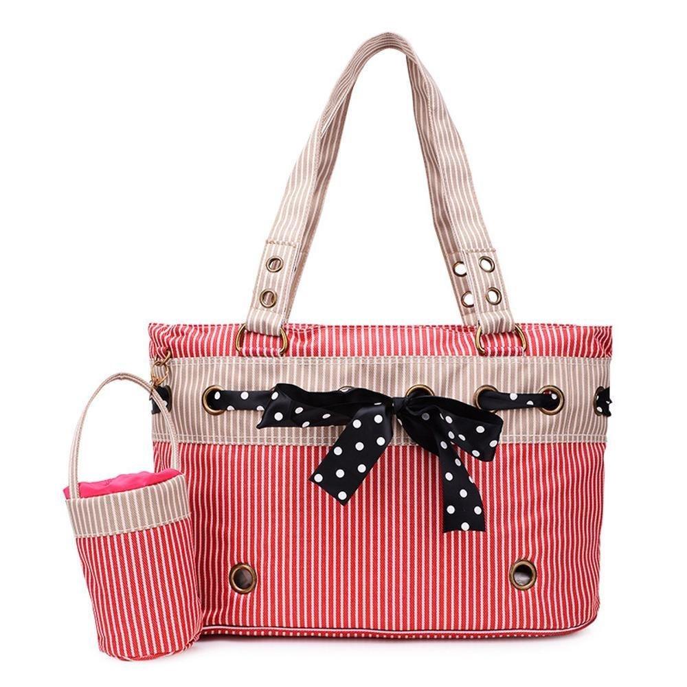 Kaxima Zaino Porta Animali Cute di Tasca Bow Bag Borsa