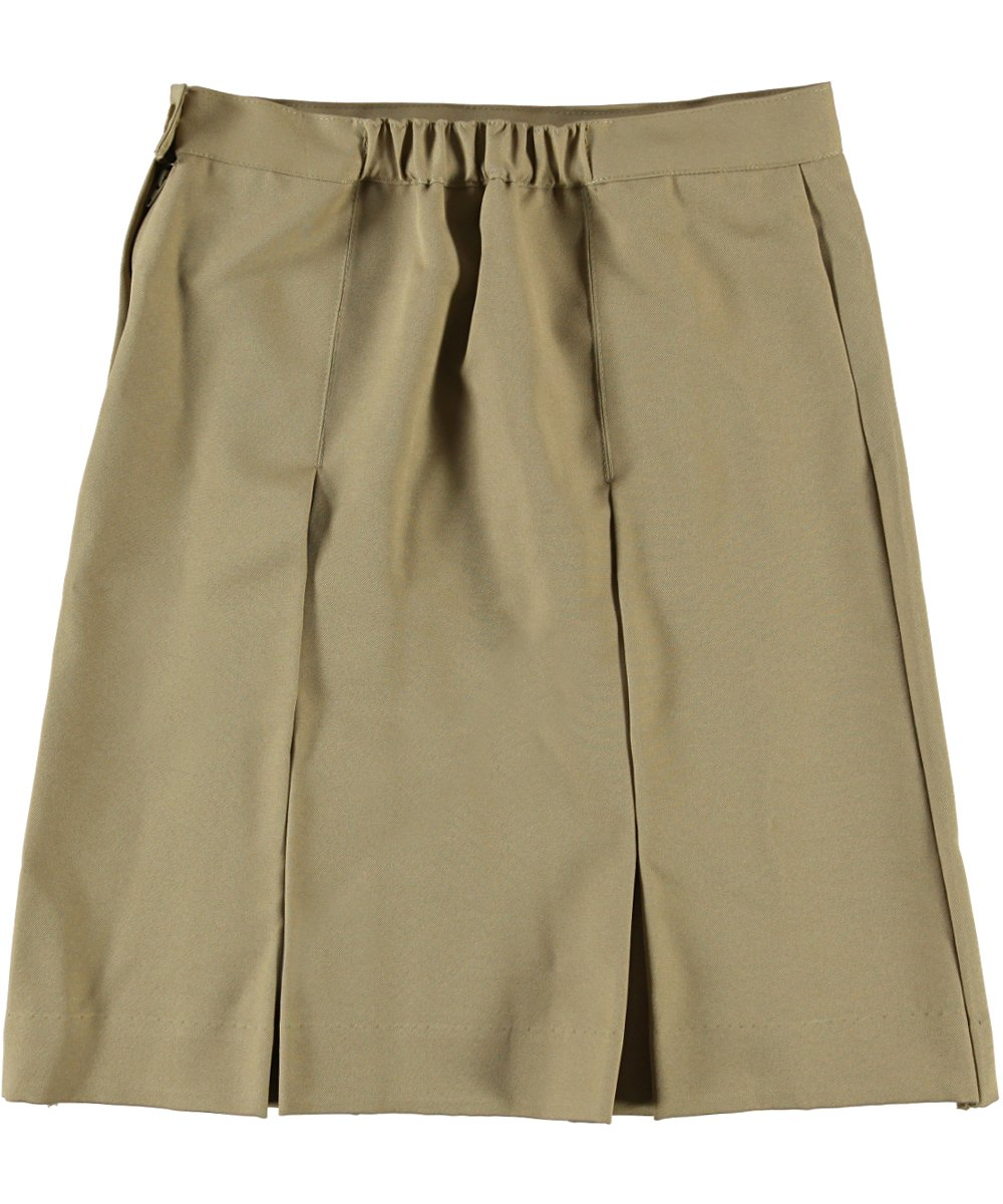 Cookie's Brand Big Girls' Box Pleat Skirt - khaki, 14