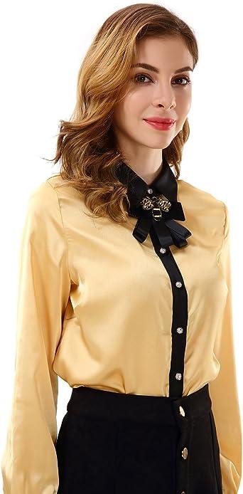 Apperloth A A - Camisas - para Mujer Dorado Dorado Small ...
