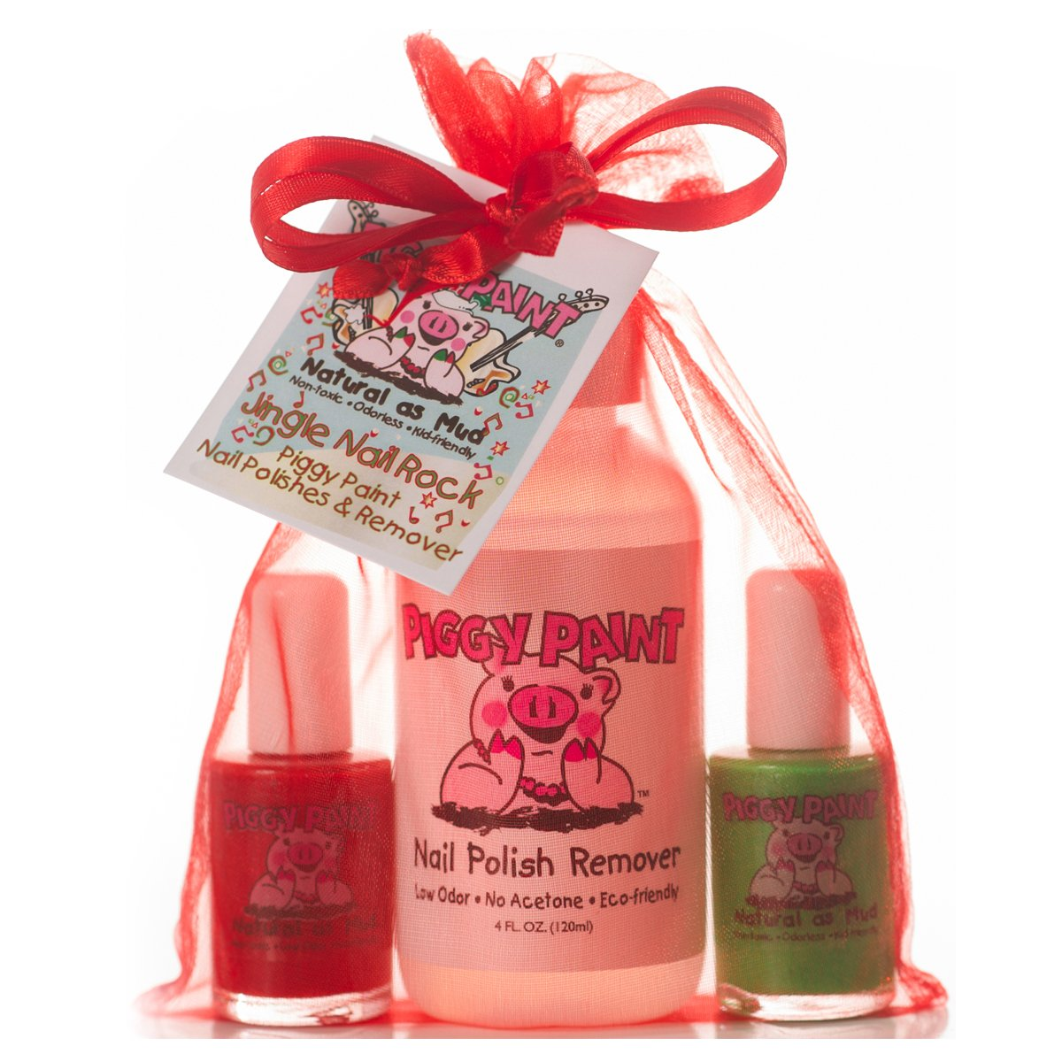 Amazon.com : Piggy Paint Non-toxic Girls Nail Polish Kit - Natural ...