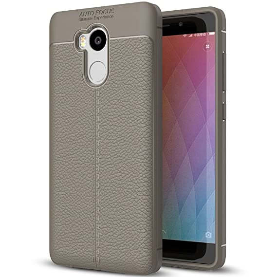 the latest e50e4 3ff88 Amazon.com: Xiaomi Redmi 4 Prime Case, Redmi 4 Prime Faux Leather ...