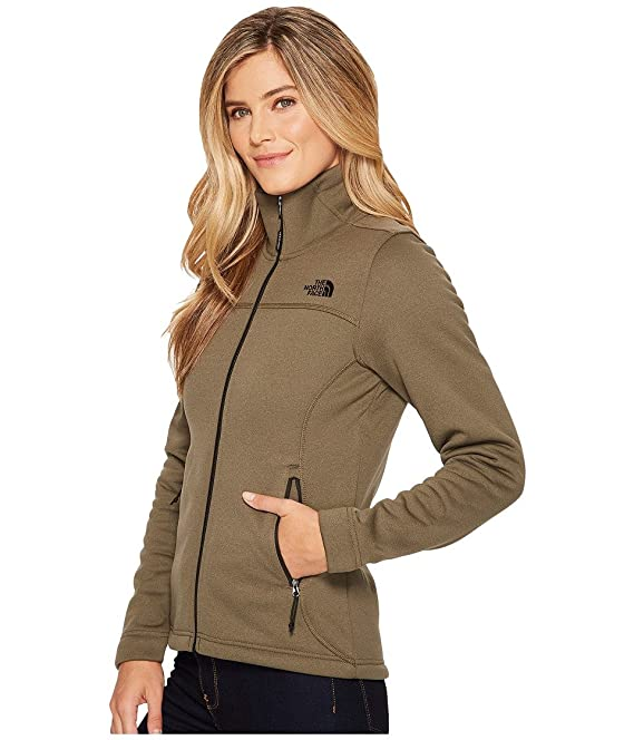f3f8078915cf The North Face W Timber Full Zip Jacket New Taupe Green Heather Womens XL  at Amazon Women s Coats Shop