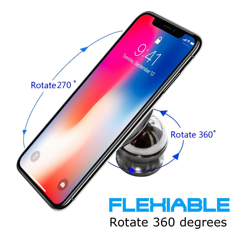 Schwarz Ubegood Magnet Handyhalterung Auto Halterung Universal KFZ Halter f/ür iPhone X//8//8 Plus//7//7Plus Samsung Galaxy S8// S7 //Note 8 und jedes andere Smartphone oder GPS-Ger/ät
