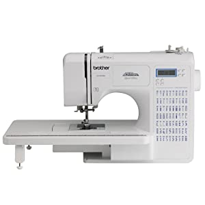Brother CE7070PRW Project Runway Computerized Sewing Machine with Wide Table