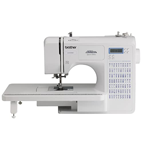 Brother Project Runway CE7070PRW 70-Stitch Computerized Sewing Machine