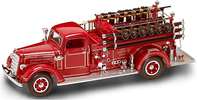 Ford Fire Engine 1938 1:24 Model YAT MING