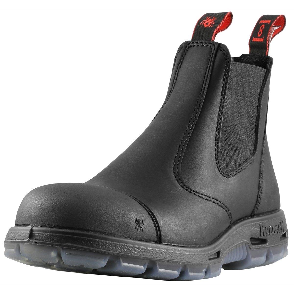 "Redback Boots USBBKSC ""Easy Escape"" Steel Toe Scuff Cap (UK 7(US 8))"
