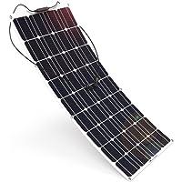 Panel Solar Flex 150w Monocrystalline 12v Placa Solar Flexible EFTE 150w Ideal para Autocaravana,Caravana y Barco