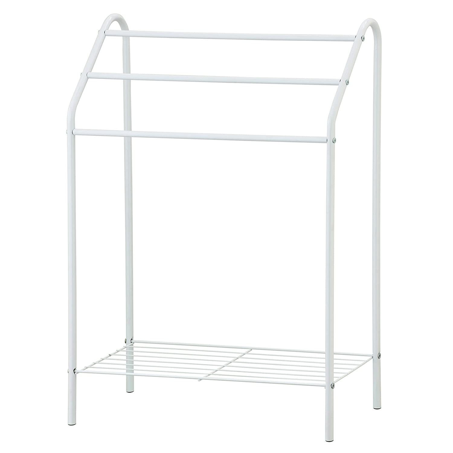 Furinno WS17015 Wayar 3-Tier Towel Stand, Chrome B0768MY8YZ