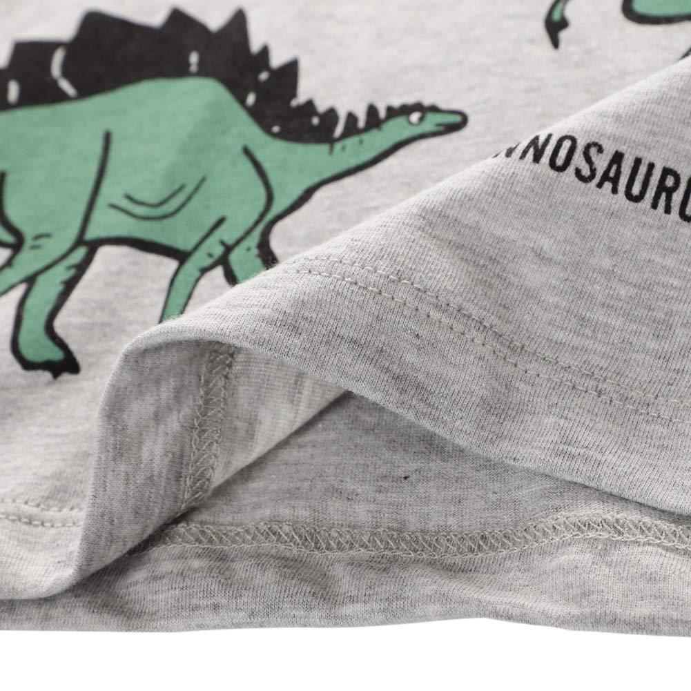 URMAGIC Dinosaure T-Shirt pour B/éb/é Garcon Enfant Hauts /à Manches Courtes V/êtements Cadeaux