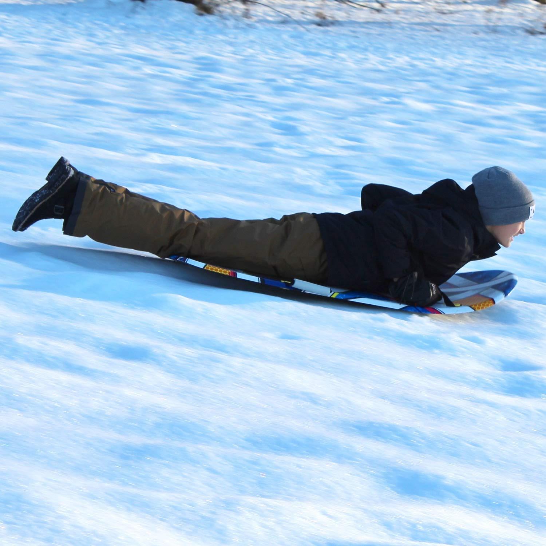 Flexible Flyer Snow Screamer 2-Person Snow Sled. Foam Plastic Double Sno Slider by Flexible Flyer (Image #8)