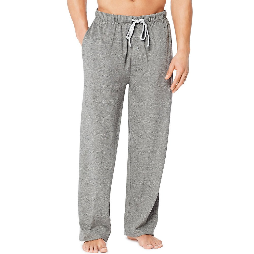 Hanes X-Temp Men`s Jersey Pant with ComfortSoft Waistband 01101